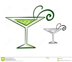 martini glass vector martini glass illustration stock image image 35855891