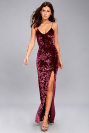 velvet dress stunning velvet dress velvet maxi dress burgundy dress