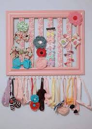 Creative Ideas To Decorate Home Best 25 Hair Accessories Storage Ideas On Pinterest Organizing