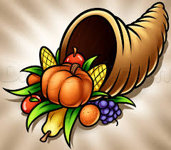 thanksgiving drawings step by step how to draw a cornucopia step by step thanksgiving seasonal