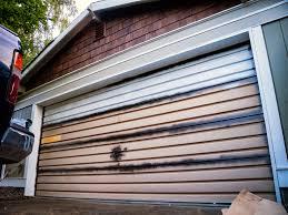 Painting Aluminum Garage Doors by Craftsman Rooftops And Garage Doors