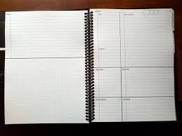 custom gtd notebook next actions list gtd gtd pinterest