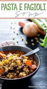 pasta e fagioli soup eazy peazy mealz