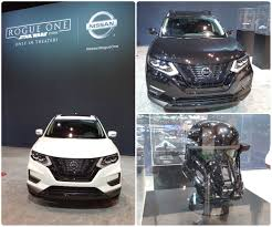nissan rogue one star wars edition chicago auto show goes rogue six brown media