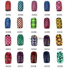 aliexpress com buy 1pc fashion flash nail art stencil out