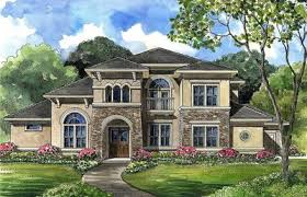 luxury home plans with photos luxury home plan with central spiral stair 67073gl