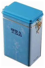 retro style practical storage tins caddy tea coffee sugar