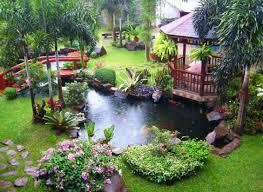 Green Backyard Garden Design AxentraNet - Backyard garden design