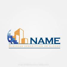 company logo templates create a logo construction company logo template