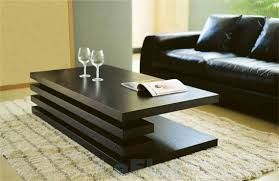 Coffee Table Design Awesome Modern Black Color Modern Coffee Tables Design Ideas