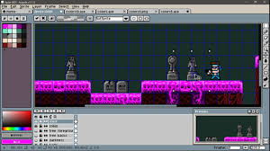 spooky pixel background spooky cemetery time lapse pixel art with flashy colors in