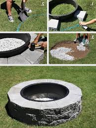 Make Your Own Firepit Superior Make Your Own Pit Cheap 1 This Would Be Great For