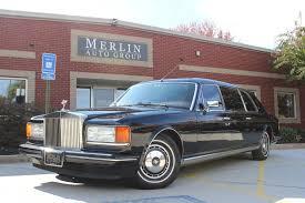 roll royce maroon used 1993 rolls royce silver spur ii limousine stock p2868 ultra