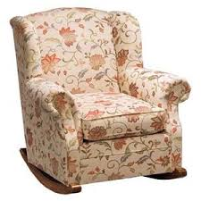 Upholstered Rocking Chair With Ottoman 8 Best Upholstered Rocker Images On Pinterest Upholstered