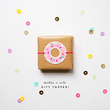 donut wrapping paper donut printables