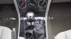 chrome black 6 speed manual transmission gear shift knob for mazda