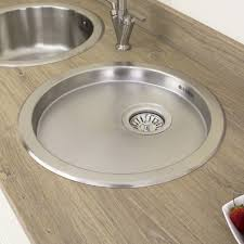 Astini Supra  Bowl Brushed Stainless Steel Kitchen Sink Drainer - Brushed stainless steel kitchen sinks