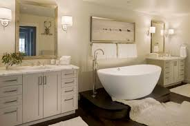 bathroom corian bathtubs in cool modern bathroom design with