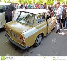 trabant east germany two stroke engine retro car trabant 601 limousine