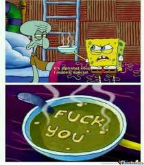 Spongebob Squarepants Meme - soup of wisdom by spongebob squarepants by twolves89 meme center