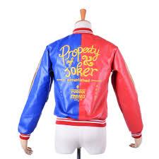 property of joker jacket squad harley quinn cosplay
