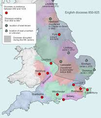 Map Of England With Cities by Viking Age Wikipedia