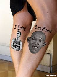 this person has dueling kobe bryant and michael jordan calf
