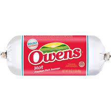 owens premium pork sausage 16 oz walmart com
