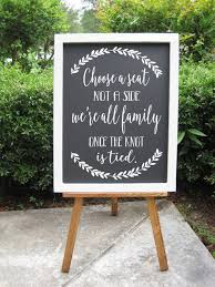 wedding seating signs best 25 wedding seating signs ideas on country
