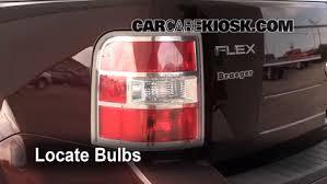 2010 ford taurus aftermarket tail lights tail light change 2009 2017 ford flex 2009 ford flex sel 3 5l v6