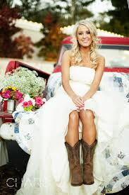 country wedding dresses with cowboy boots images totally awesome