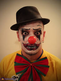 Evil Clown Halloween Costume Clown Halloween Costume