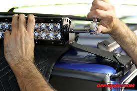 Installing Light Bar Installing A Rigid Industries E Series Led Light Bar Off Road Com