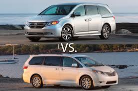best minivan 2016 honda odyssey vs 2016 toyota u s