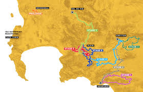 Ups Route Map by Absa Cape Epic The 2017 Absa Cape Epic Route
