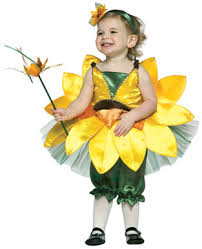 Infant Girls Halloween Costumes Baby Girls Flower Costume Sunflower Infant Felicity