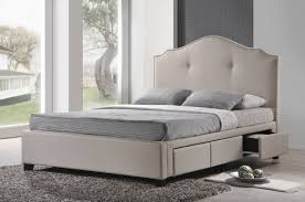 Padded King Size Headboards by Bedroom Contempo Bedroom Decoration Using Light Peach
