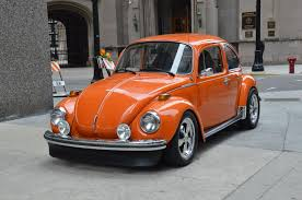 volkswagen orange 1973 volkswagen beatle stock l293b for sale near chicago il