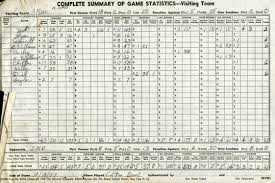 Stat Sheet Template Football 1957 Smu Rice History Corner