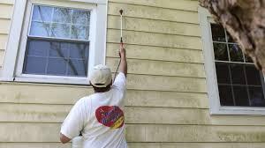 Exterior Paint For Aluminum Siding - aluminum siding house cleaning before painting salisbury md youtube