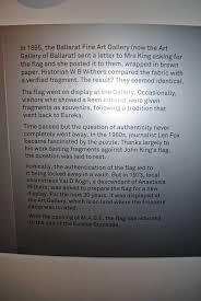 Ballarat Flag M A D E Museum Of Australian Democracy At Eureka On The Wallaby