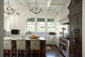 schonbek in kitchen traditional with decorate above cabinet next