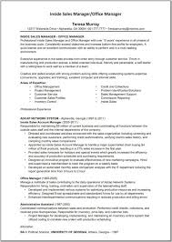 Office Manager Sample Resume Sample Account Manager Resume Account Manager Resume Example