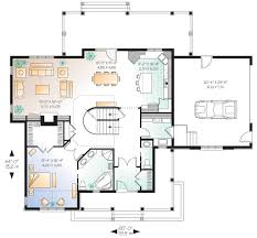 Country Style House Floor Plans Country Style House Plan 3 Beds 2 50 Baths 2204 Sq Ft Plan 23 533