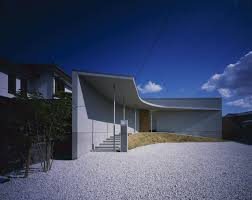 curved house in naruto by naoko horibe design milk
