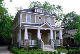 craftsman porch columns with shingle siding exterior craftsman and