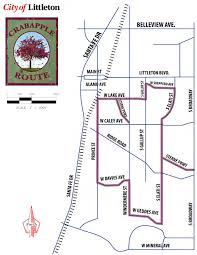 Littleton Colorado Map by Pretty In Pink Taking Stock Images Photography