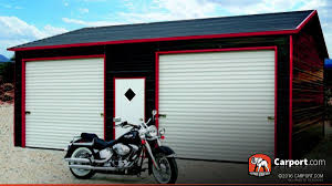 two car steel garage with metal roof 22 x 26 shop garages online 22x26 two car steel garage with metal roof
