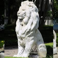 lion statues garden ornaments sitting white lion statues outdoor for sale