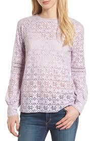 lavender blouses s purple tops tees nordstrom